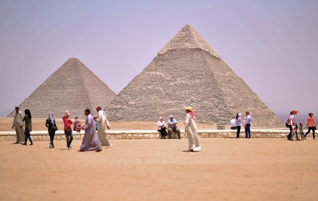 pyramides d'Egypte, architecture