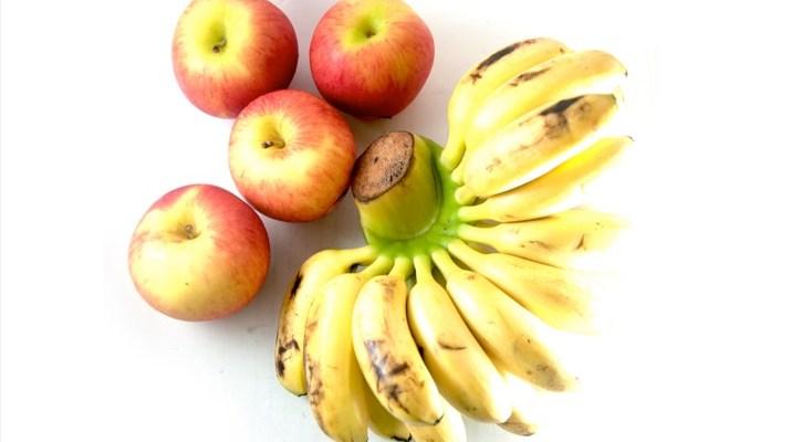 apple and banana benefits