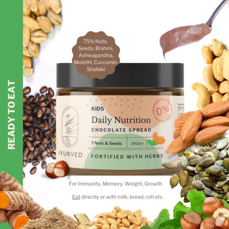 Iyurved daily Nutrition Chocolate Spread Ayurvedic Chocolate Spread