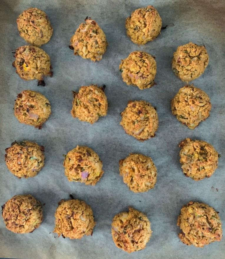 Baked Falafel recipe by Iyurved