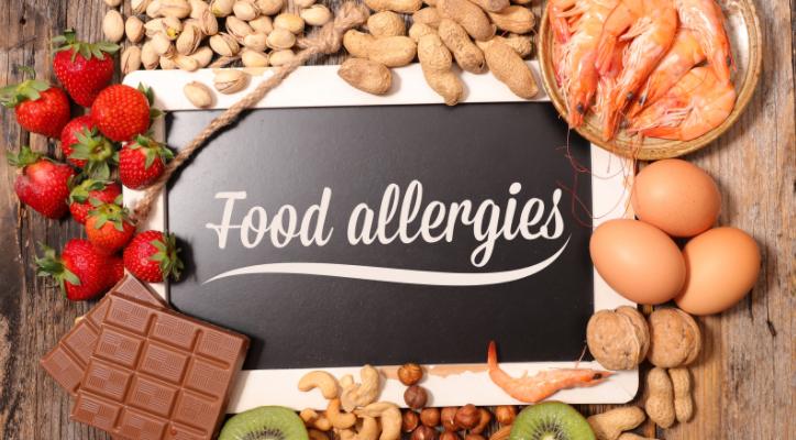 type of food allergies