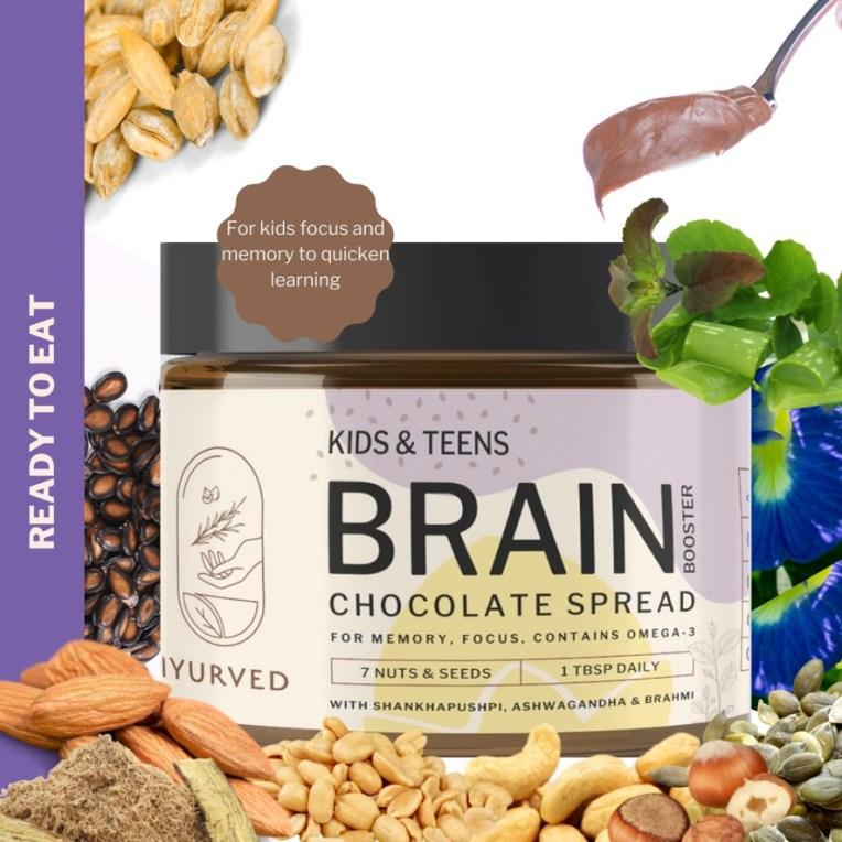 Kids & Teens Brain Booster Chocolate Spread Brain boosting foods