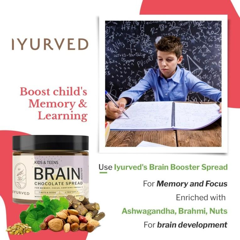 Brain Boosting Kids & Teens Brain Booster Chocolate Spread