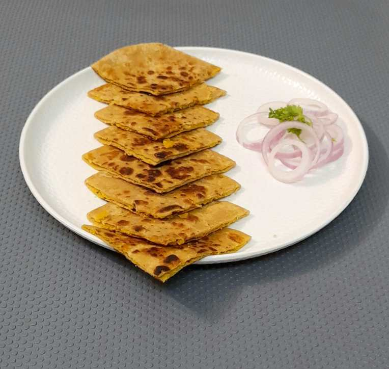 recipe of Chana dal paratha by Iyurved