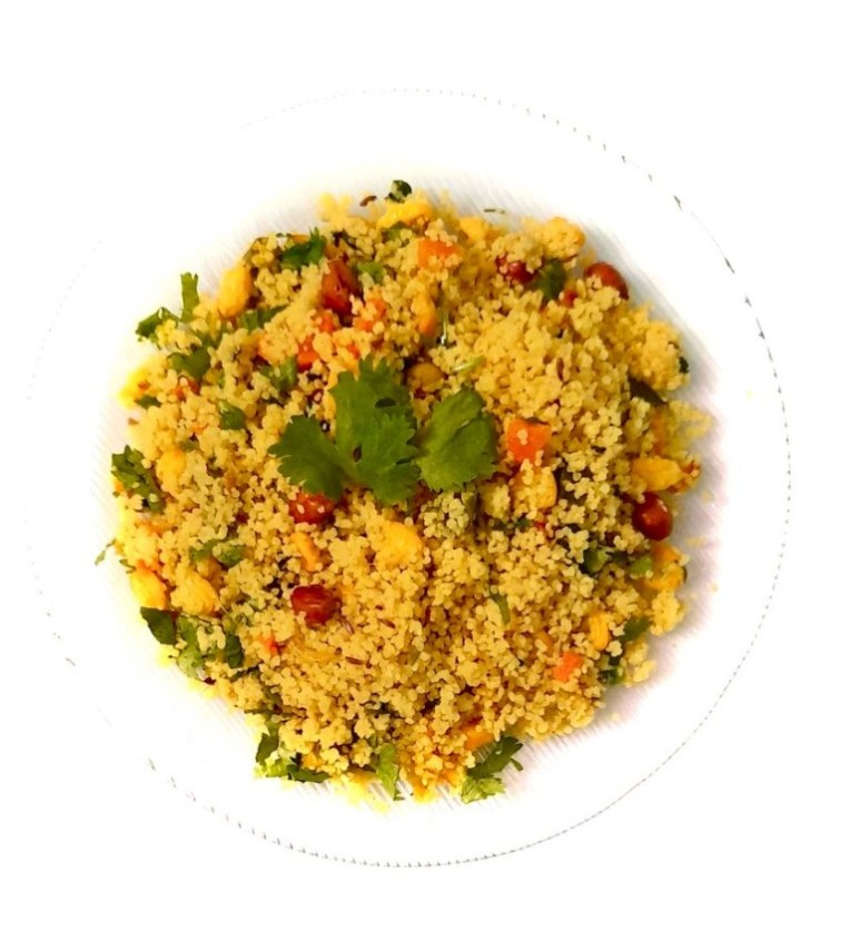 Indori poha with millet recipe by Iyurved