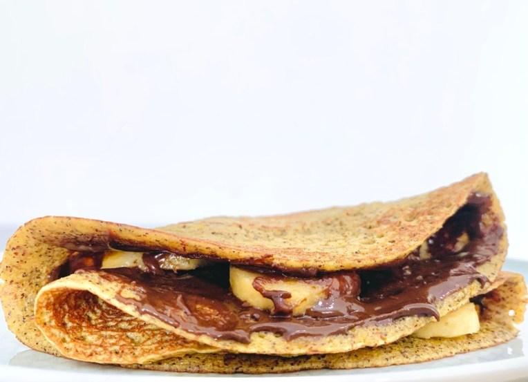 Millet crepe/ Pancake recipe by Iyurved