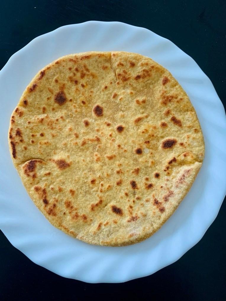 Recipe of banana stem paratha by Iyurved