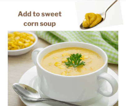 Sweet corn vegetable soup recipe by Iyurved