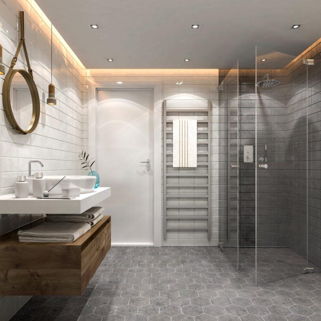 installer une cabine de douche dans