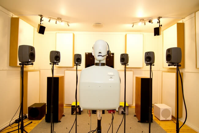 Sound lab - listening room