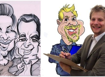 David Groves Caricatures Cartoonist Jacaranda Catering Supplier Spotlight_0003