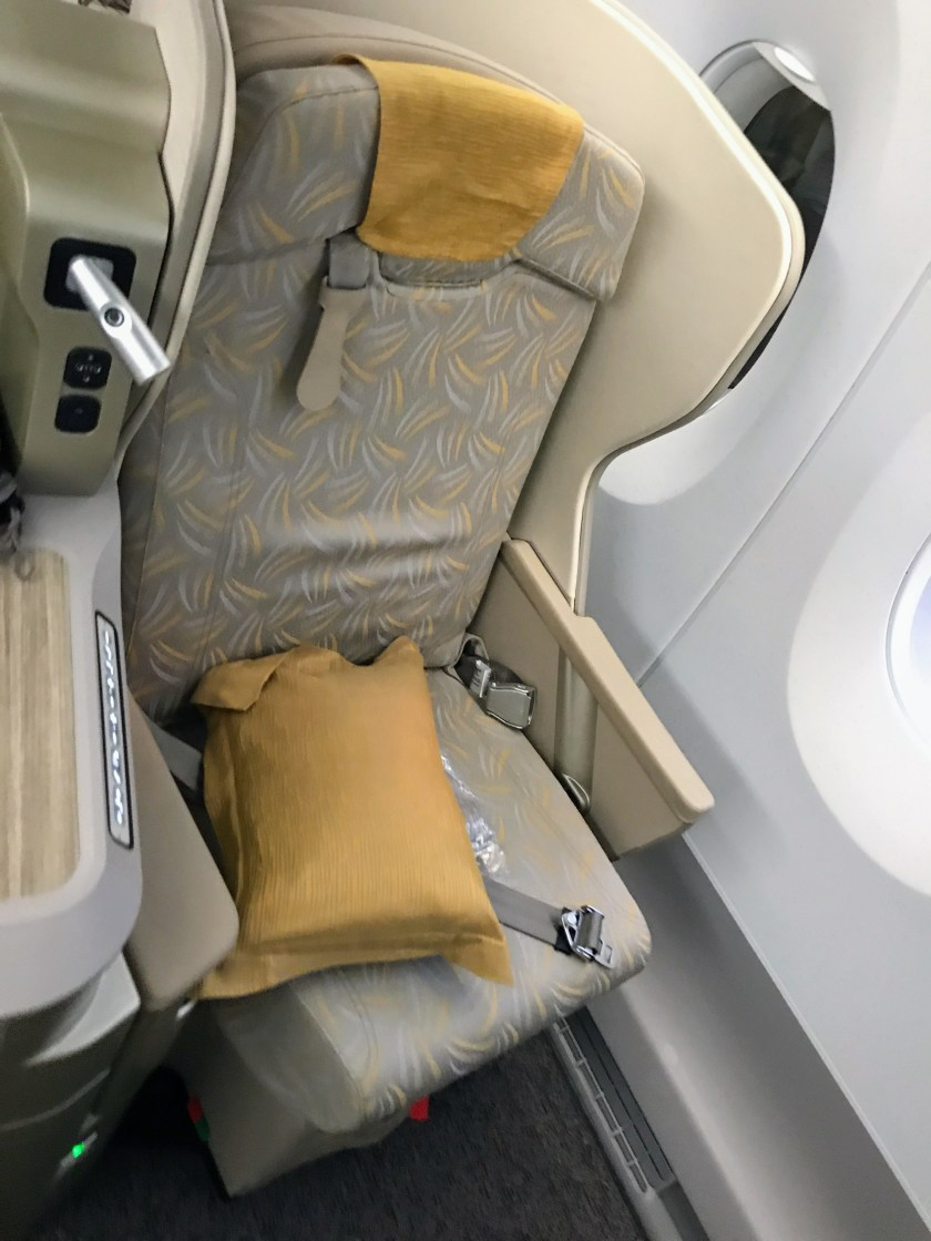 Asiana A350 Business Seat
