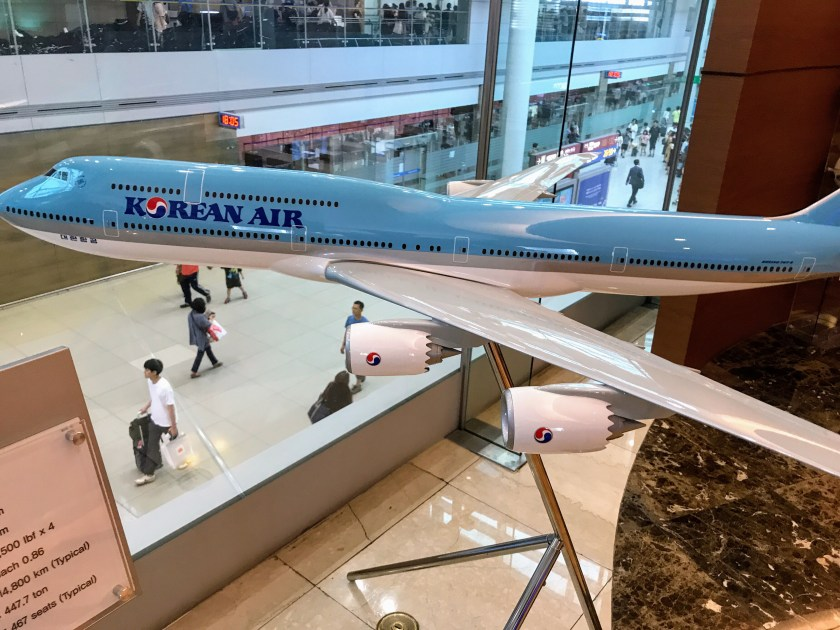 KE ICN First Lounge Model Plane