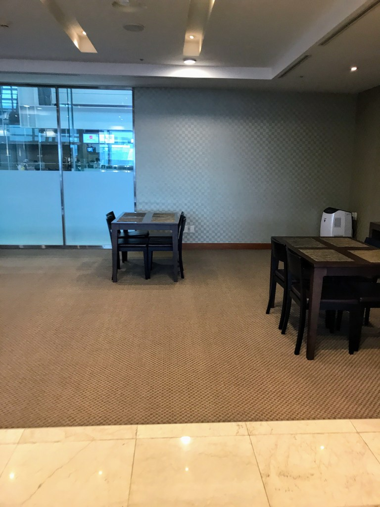 KE ICN First Lounge Dining Room