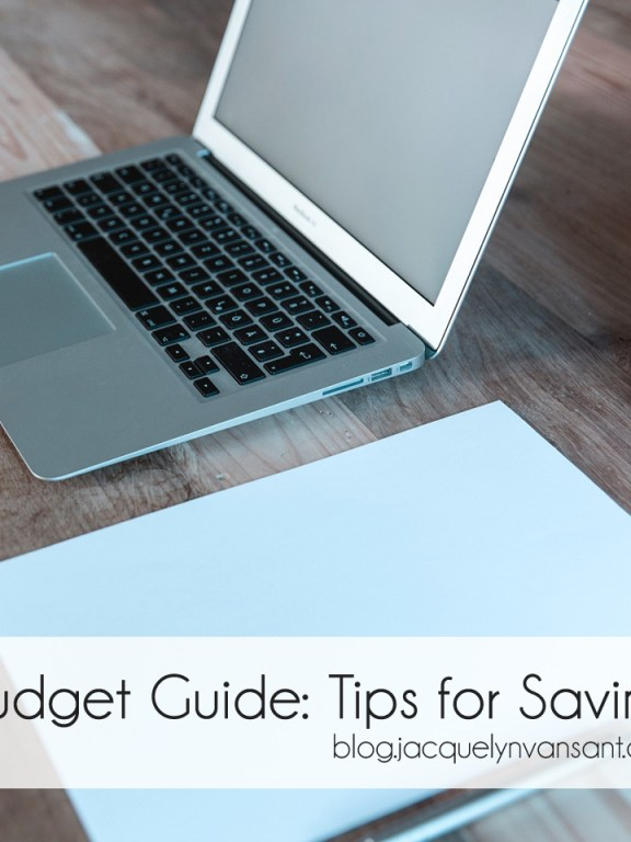 Budget Guide: 3 tips for big ticket items