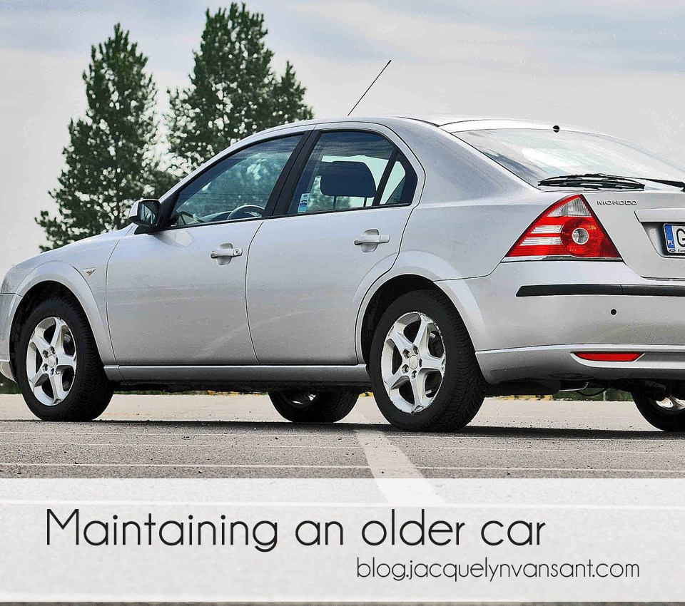Maintaining an older car