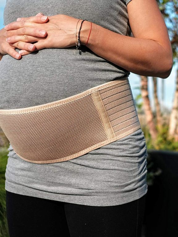 Support Your Body: Review of Maternity Belt and Pregnancy Wedge Pillow by Jill and Joey