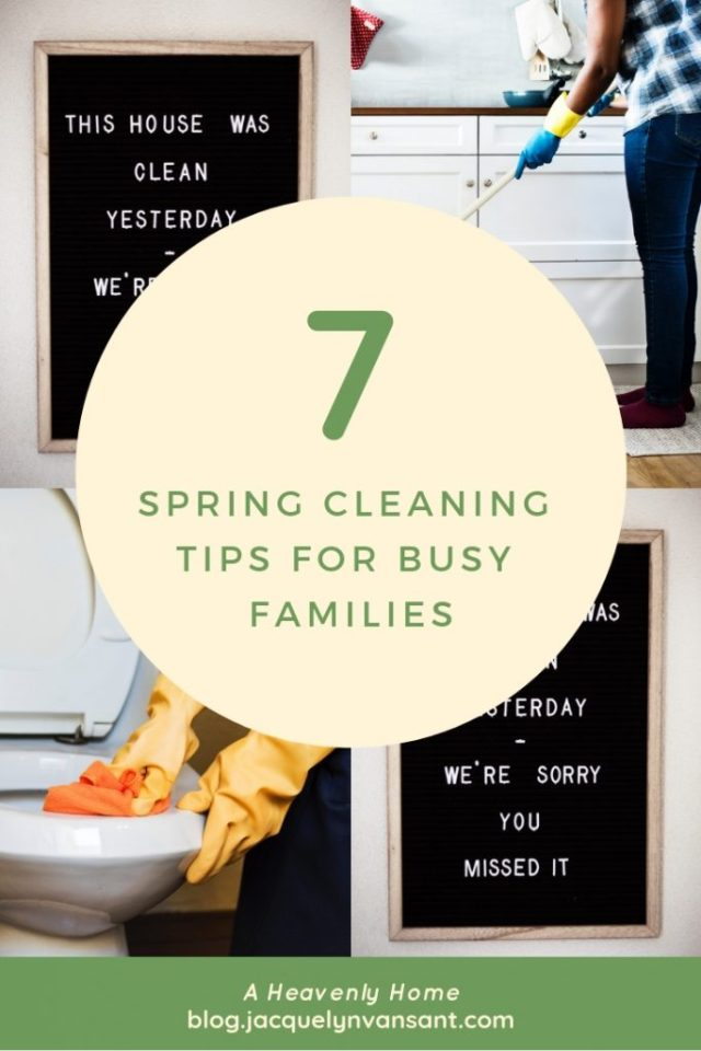 7 spring cleaning tips for busy families