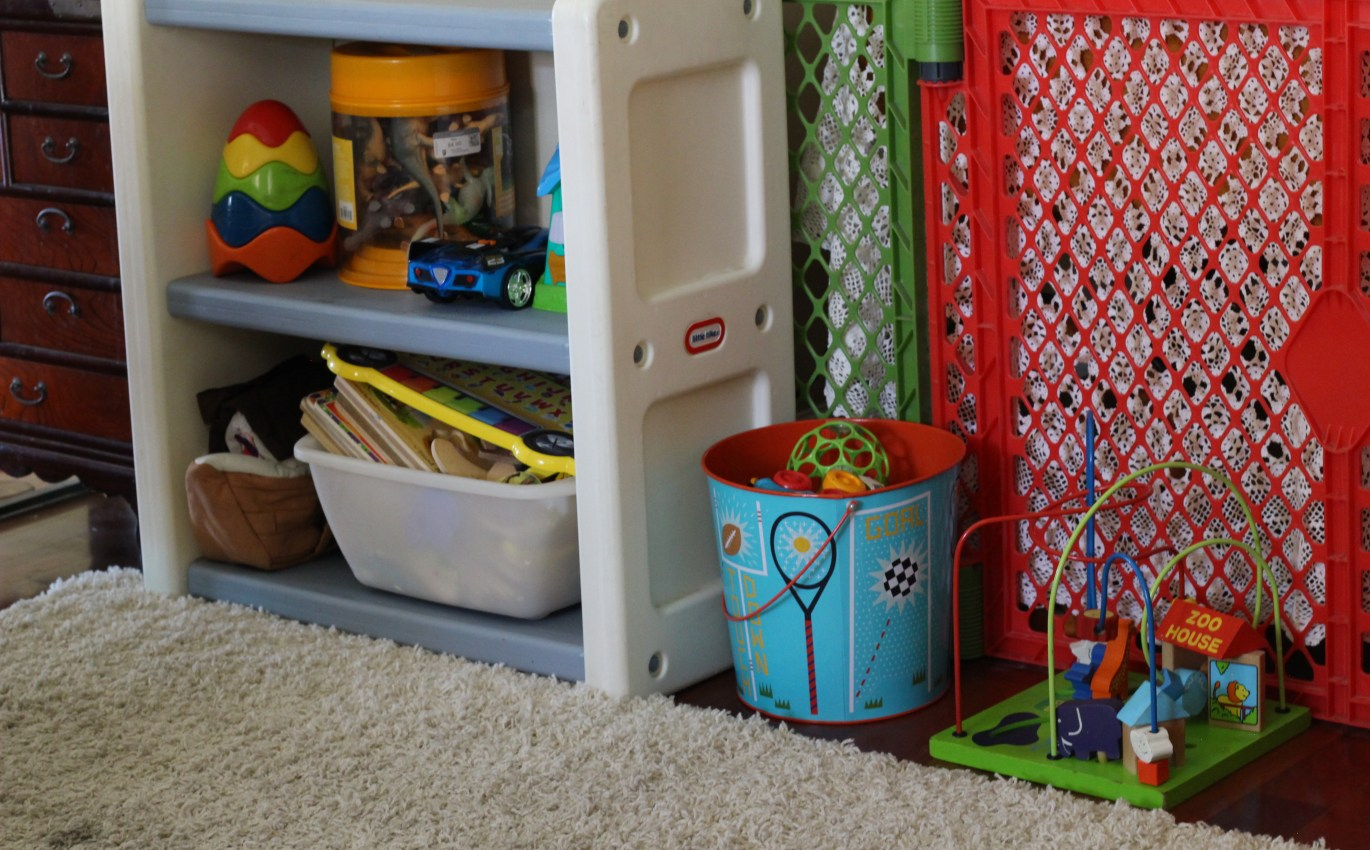 6 Tips for a tidy house with toddlers