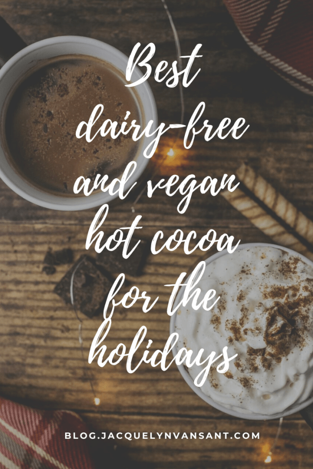 Whether you are lactose intolerant, allergic to dairy, or live a vegan or plant-based lifestyle, there are plenty of hot cocoa options for you to enjoy!