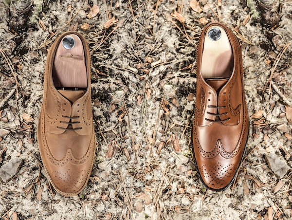chaussures hommes long wing brogue