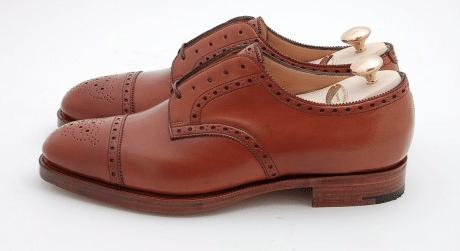 Chaussures hommes half brogue