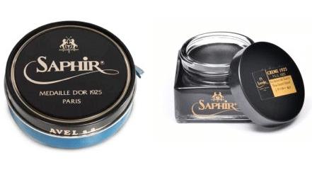 pâte et crème à cirer Saphir médaille d'or