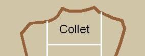 Collet cuir
