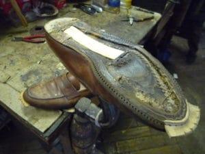 Ressemelage semelle cuir chaussure