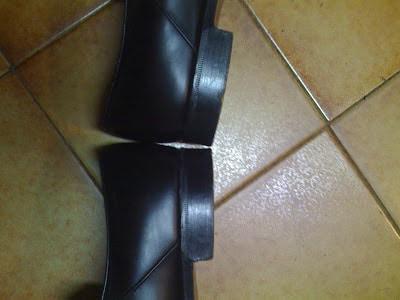 qualité talon chaussures en cuir