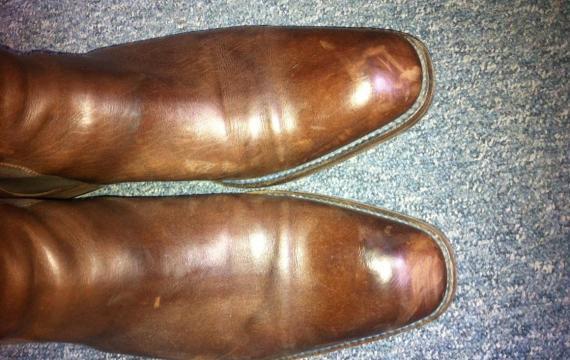 réparer accroc cuir