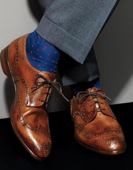 chaussettes pois