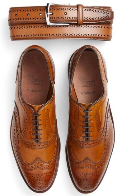 chaussure de mariage pour homme et ceinture