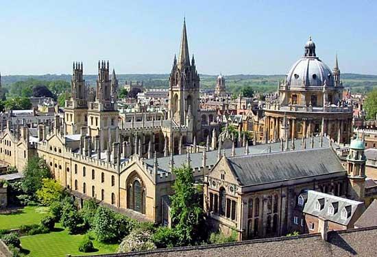 Juste parce que c'est beau : l'université d'Oxford