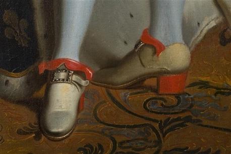 Voici à quoi ressemblait les chaussures de Louis XIV
