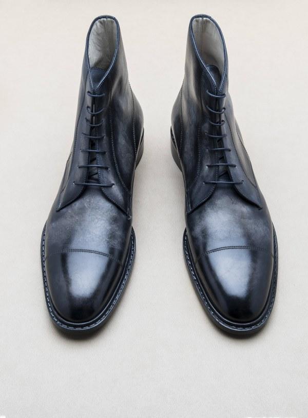 Notre city boot et sa patine granite - CLIQUEZ SUR L'IMAGE POUR L'AGRANDIR