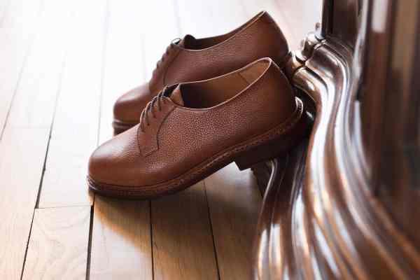 chaussure derby blucher
