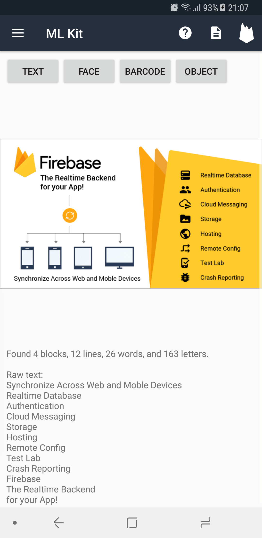 Developing Android Apps With Firebase ML Kit | Jake Lee