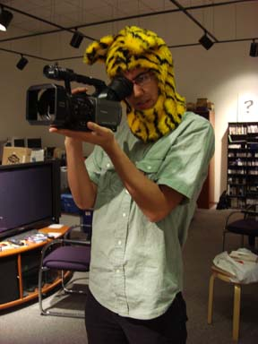 Evan Kodani, 2010 Getty intern