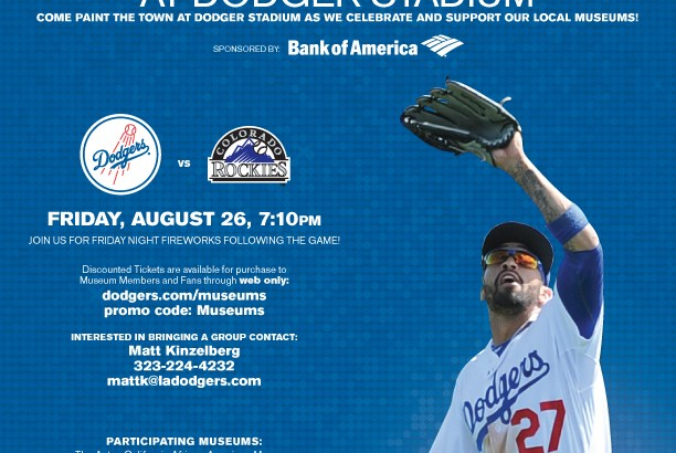 Museums Matter Night at Dodger Stadium