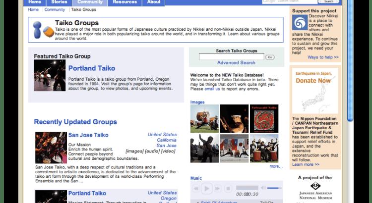 Discover Nikkei -Taiko Groups