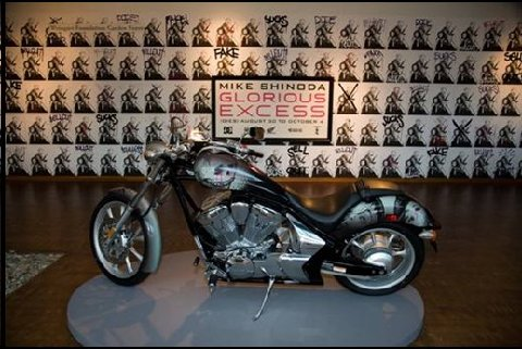 Glorious Excess motorcycle at JANM