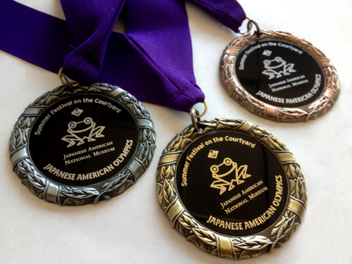 Japanese American National Museum - Summer Festival on the Courtyard medals