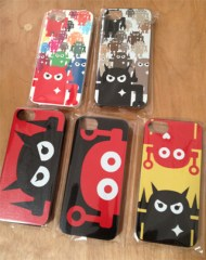 Giant Robot's iPhone 4 and 5 cases! (Photo from: Giant Robot)