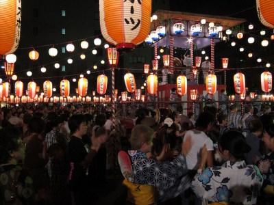 Obon Festival, Tokyo, 2011. Photo by bhollar via Flickr.