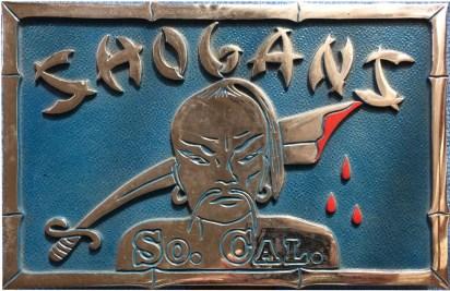 Shogans car plaque