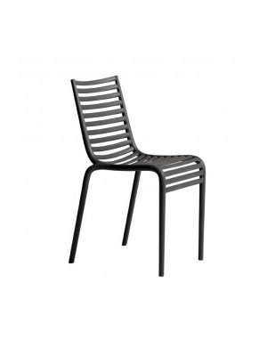 Lot de 2 chaises empilables