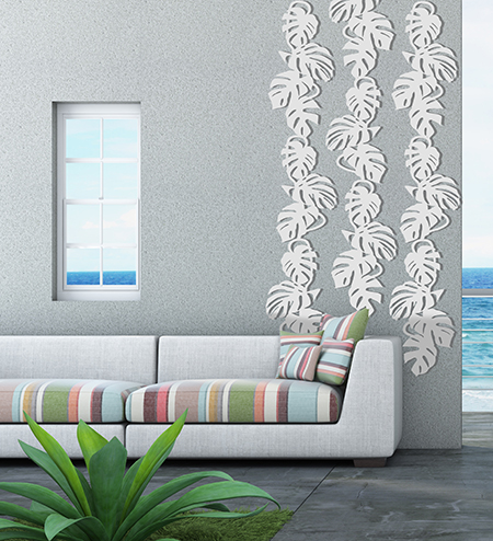 Treille Monstera Liana Blanche Palissadesign Jardinchic