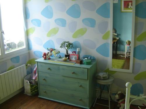 Chambre de fille couleur anis et turquoise  Jasmine and Co  DIY et tuto de dcoration