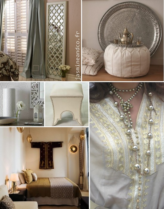 Inspiration 4  dcoration orientale chic  Jasmine and Co  DIY et tuto de dcoration